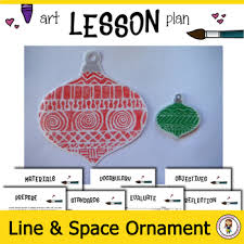 Elementary Art Lesson Plans Art Lesson Plan Elementary Art Ornament With Line Negative Space