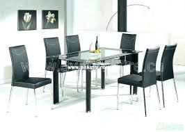 glass dining table set singapore round for 4 india top ikea room kitchen engaging