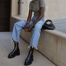 Leather brogue design chelsea boots. 10 Chelsea Boot Outfits You Ll Want To Re Create This Season Who What Wear