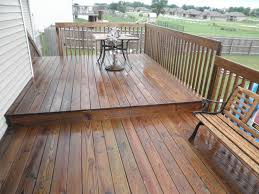 exterior deck stain color chart. cabot semi-transparent redwood stain on an existing treated deck | and drive solutions exterior color chart e