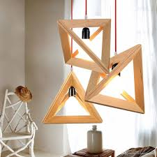 image of wooden chandelier design ideas