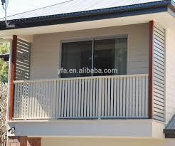 Balcony Fence aluminium fixed louver for balcony fence blind buy aluminum vent 8703 by xevi.us