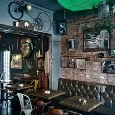 Wonderful Interior Steampunk Cafe Design Ideas - Violinav.Com