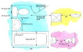 bathroom dimensions. Brilliant Bathroom Minimum Dimensions For Bathroom  Interesting With Bathroom Dimensions E