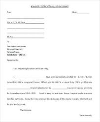 Letter Format Requesting Transfer Certificate School Copy Request