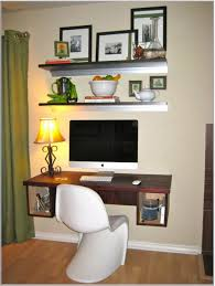 minimalist black picture frame design idea for study room with white wall and open shelves affordable minimalist study room design