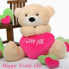 beautiful pic of teddy bear day love