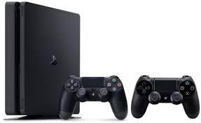 sony playstation 4. sony playstation 4 500gb slim with 2 dual shock wireless controllers playstation l