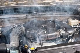 signs your vehicle is overheating
