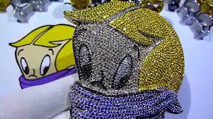 custom lab made diamond richie rich head pendant for my international customer labmadejewelry you
