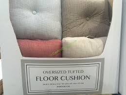 oversized floor cushions. Exellent Cushions Oversized Floor Cushions Best Of Tufted Cushion U2013  Costcochaser Lovely On H