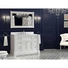48 inch mirror. Inch White Finish Single Sink Bathroom Vanity Cabinet With Mirror 48 G