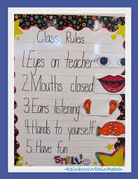 classroom rules template posted classroom rules fine motor drseussprojects