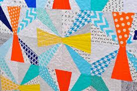 Baby Jacks Quilt from 'Paper Pieced Modern' | Lindsay Sews & Baby Jacks Quilt from 'Paper Pieced Modern' Adamdwight.com