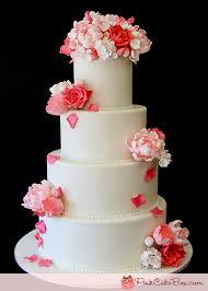 pink rose wedding cake wedding cakes