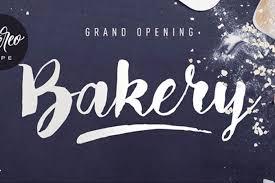 hipster script font free bakery fondfont