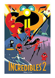 incredibles 2 poster. Fine Incredibles PosterOffice Incredibles 2 Movie Poster Size 24u0026quot X 36u0026quot This Is A  Certified Print Intended R