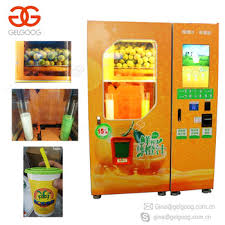 Juice Vending Machine Price Magnificent Automatic Fresh Orange Juice Vending Machine Orange Juicer Vending