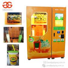 Juice Vending Machine Price Magnificent Automatic Fresh Orange Juice Vending Machine Orange Juicer Vending