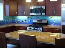 aquarium tile mural kitchen backsplash 2c