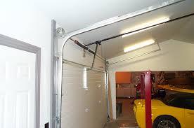 high lift garage doorGarage door mods for lift  CorvetteForum  Chevrolet Corvette