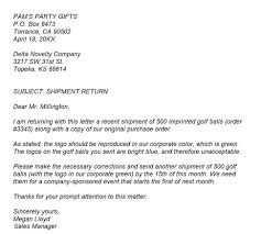 example of a complaint letter cover letter sample  example