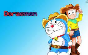 Hình ảnh Doremon và Nobita - Angkoo