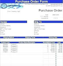 Retail Purchase Order Form Template Sample Format In Word