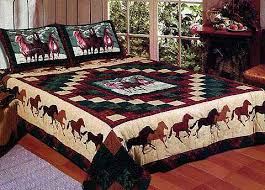 Horse Quilt Bedding - Twin, Full / Queen or King Quilt Horse ... & Horse Quilt Bedding - Twin, Full / Queen or King Quilt whispers Horse  bedding with Adamdwight.com