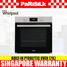 whirlpool build in oven