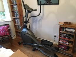 vision fitness x6100 folding elliptical cross trainer