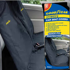 goodyear 2 x car front seat covers