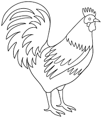Small Picture Rooster Coloring Pages GetColoringPagescom