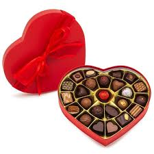 Valentine <b>Heart Shaped</b> Box - Assorted Chocolates | André's ...