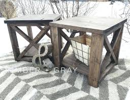rustic end table rustic white end table farmhouse coffee table rustic x rustic leaves tablecloth