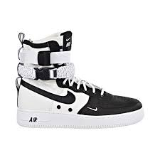Nike Special Field Boot Size Chart Amazon Com Nike Sf Air Force 1 Mens Shoes Black White