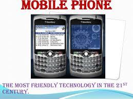 presentation on mobile phones