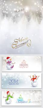 christmas poster banner template design vector graphic christmas poster banner template design