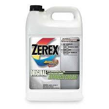 Zerex Antifreeze Coolant 1 Gal Concentrate Zx001 Zoro Com