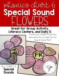 Abeka Phonics Chart 6 Special Sound Flowers A Beka By