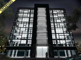 glass facade design office building. Office Facade Design. Building Facades. Modern 3d Max Facades Design U Glass I