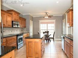 stylish painting kitchen walls with oak cabinets inspiration yellow retro sunny inspired painted kitchens