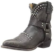 Frye Womens Billy Biker Short Ankle Boot