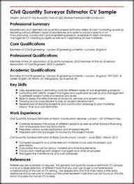 job description sample for quantity surveyor 1 quantity surveyor resume