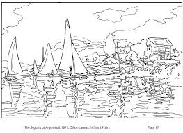 Small Picture monet coloring pages for kids printable My friend posted this