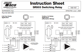 taco wiring drawing wiring diagram libraries taco 502 wiring diagram wiring diagram todaystaco sr503 4 three zone switching relay ecobee support white
