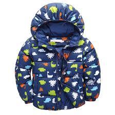 taiycyxgan little boys dinosaur winter coat kids warm thicken hooded outwear jacket b01kjtwbsk