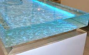 hervorragend sea glass kitchen countertops 1