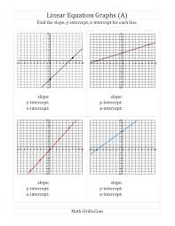 graphing using intercepts worksheet motorobilia com