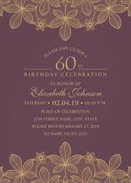 60 birthday invitations 60th birthday party invitations archives superdazzle custom